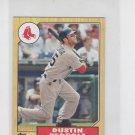 Dustin Pedroia 1987 MIni  2012 Topps #TM23  Red Sox