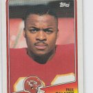 Paul Palmer Football Trading Card 1988 Topps #364 Cheifs