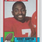Rodney Hampton Rookie Card 1990 Topps #48 Giants