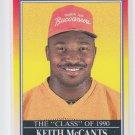 Keith McCants Rookie Card Class of 90 1990 Score #617 Buccaneers