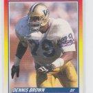 Dennis Brown Rookie Card 1990 Score #640
