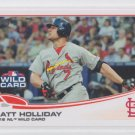 Matt Holliday Baseball Trading Card HL 2013 Topps #125 Cardinals