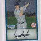 Carmen Angelini 1st Prospect Card 2009 Bowman Chrome #167 Yankees