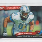 Calvin Johnson Peak Performances 2010 Topps #PP37 Lions