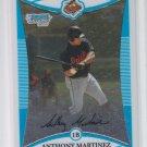 Anthony Martinez 1st Prospect Card 2008 Bowman Chrome #BCP13 Orioles