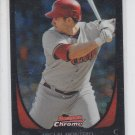 Miguel Montero Baseball Trading Card 2011 Bowman Chrome #4 Diamondbacks