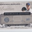 Jonathan Papelbon Franchise 2008 UD Piece History #FH6 Red Sox 606/699
