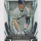 Ryan Braun Cutting Edge Stars Die Cut  2013 Bowman Platinum #CES-RB Brewers