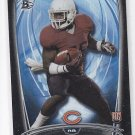 Ka'Deem Carey Rookie Card Black Rainbow Foil SP 2014 Bowman #104 Bears