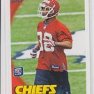 Javier Arenas Rookie Card 2010 Topps #75 Chiefs
