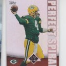 Brett Favre Perfect Spiral Own The Game 2001 Topps #PS5 Packers *BOB
