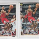 Scottie Pippen Basketball Card Lot (2) 1994-95 UD Collector's Choice #33 Bulls