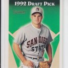Benji Grigsby Gold Parallel RC 1993 Topps #518