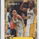 Reggie Miller Basketball Card 1999-2000 Fleer Impact #200 Pacers