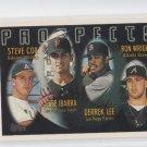 Steve Cox  Jesse Ibarrra Derrek Lee Ron Wright 1996 Topps #424