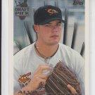 Alvie Shepherd Draft Pick RC 1996 Topps #234 Orioles