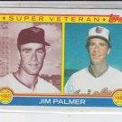 Jim Palmer Super Vet 1983 Topps #491 Orioles Sharp!