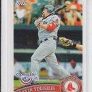 Kevin Youkilis Baseball Card 2011 Topps Series 1 #148 Red Sox Yankees