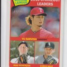Yu Darvish Max Scherzer Chris Sale League Leaders 2014 Topps Heritage #11