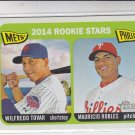 Wilfredo Tovar Mauricio Robles 2014 Topps Heritage #374