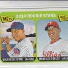 Wilfredo Tovar Mauricio Robles 2014 Topps Heritage #374