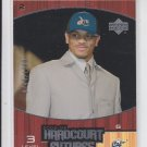Juan Dixon Rookie Card Level 3 2002-03 Upper Deck Hardcourt Futures 0744/1999