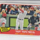 David Ortiz World Series Game 1 2014 Topps Heritage #132 Red Sox