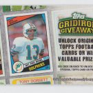 Dan Marino Gridiron Giveaway Redmeption Card 2010 Topps #GG-10 Dolphins Expired