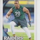 Lamarr Houston Rookie Card 2010 Topps #415 Raiders