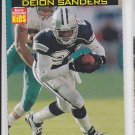 "Deion Sanders Football Trading Card ""Cut Out"" 2000 SI For Kids #761 Cowboys *BOB"