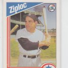 Yogi Berra Baseball Trading Card 1992 Ziploc #10 Yankees