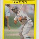 Tony Gwynn Baseball Trading Card 1991 Fleer #529 Padres *ED