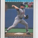 Chuck Knoblauch  Baseball Trading Card 1992 Donruss #390 Twins *ED