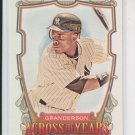 Curtis Granderson Across The Years 2013 Topps Allen & Ginter #ATY-CGR Yankees