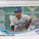 Jose Reyes Baseball Card 2013 Topps Team Edition #AL-13 Blue Jays