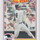 Rickey Henderson All Star Commemorative Card 1986 Topps #16 Yankees