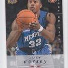 Joey Dorsey Rookie Card 2008-09 Upper Deck First Edition #244 Rockets