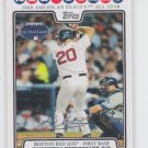 Kevin Youkilis Baseball Trading Card 2008 Topps Update #UH46 Red Sox Yankees