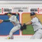 Mariano Rivera & Dennis Eckersley Legendary Lineage 2010 Topps #LL26 Yankees