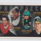 Brian Barber Marc Kroon Marc Valdes Don Wengert RC 1996 Topps #433 *ABCDE
