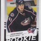 Adam Pineault Rookie Card 2008-09 Upper Deck Victory #249 Blue Jackets