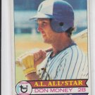 Don Money Vintage Baseball Card 1979 Topps #265 BrewersVGEX