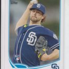 Casey Kelly Rookie Card 2013 Topps Series 1 RC #111 Padres