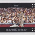 Paul Konerko Baseball Trading Card 2007 Topps Series 1 #34 Whtie Sox