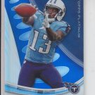 Kendall Wright Blue Sapphire Parallel 2013 Topps Platinum #36 Titans