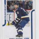 Barret Jackman Glossy Parallel SP 2011-12 Score #407 Blues