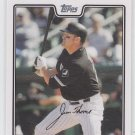 Jim Thome Baseball Trading Card 2008 Topps Series 1 #240 White Sox