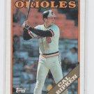Cal Ripken Jr. Baseball Trading Card 1988 Topps #650 Orioles
