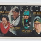 Brian Barber Marc Kroon Marc Valdes Don Wengert RC 1996 Topps #433 *ABCD