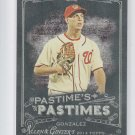 Gio Gonzalez Pastime's Pastimes 2014 Topps Allen & Ginter #PP-GG Nationals